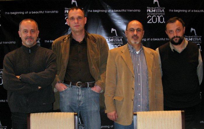 Nikša Bratoš, Vinko Brešan, Admir Ćulumarević i Mate Matišić