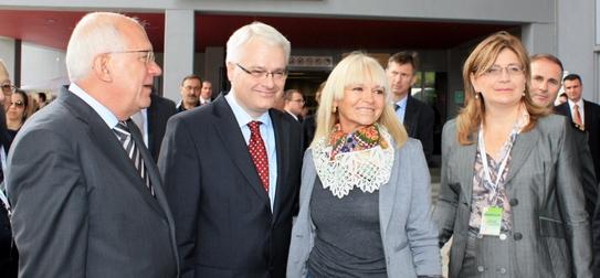 Zvonimir Vrančić,Ivo Josipović, Mina Petra i Dijana Katica
