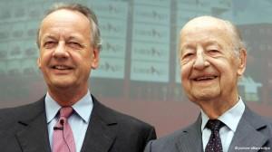 August Oetker i otac Rudolf-August