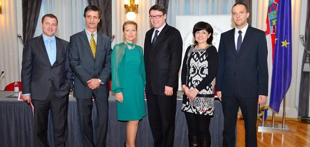 Jure Radoš, Pero Ivanković, Barbara Kolar, Željko Jovanović, Tamara Poljičan i Josip Grgić