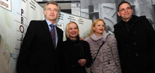 Zrinko Ogresta, Ksenija Pajić, Polona Juh i Vinko Brešan
