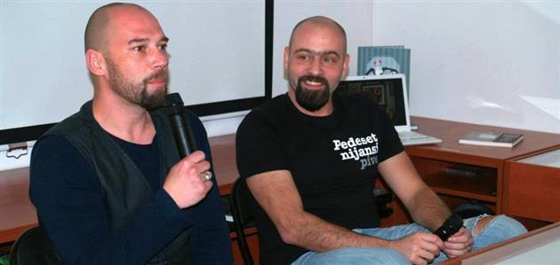 Boris Veličan i Domagoj Jakopović Ribafish