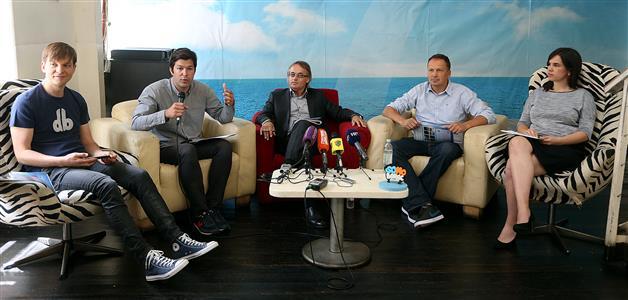 Davor Bruketa, Nikola Vrdoljak, Predrag Grubić, Tomo Ricov i Ružica Vrdoljak (foto Goran Stanzl-Pixsell)