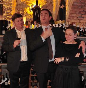 Ivan Srpek, Francesco Riccardi i Doris Srpek