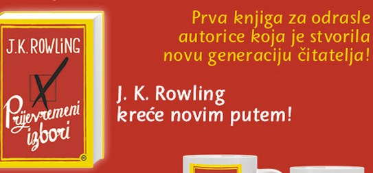 J.K. Rowling-Prijevremeni izbori