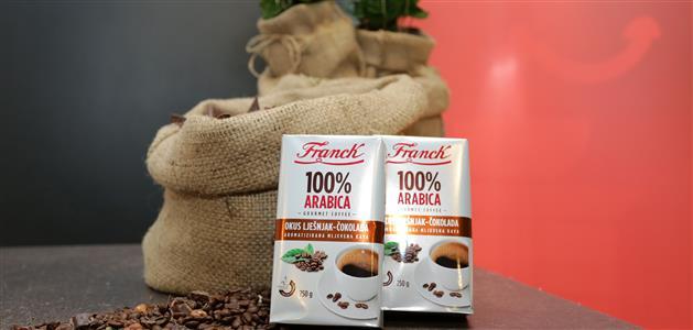 Franck-100 posto Arabica-lješnjak i čokolada