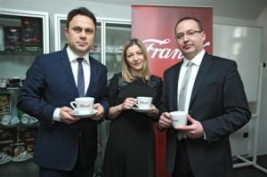 Franck-Kristijan Gregorić, Marijana Pecoja i Ivan Jurković