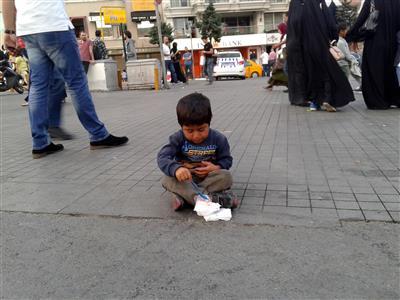 Istanbul-dječak na ulici