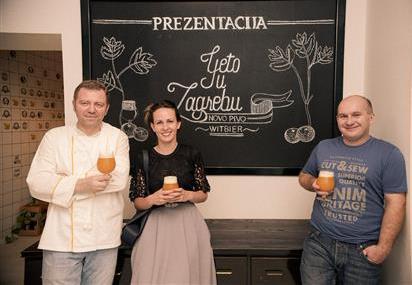 Ivica Štruml, Ana Tevšić i Božidar Kostanjčar-Mali medo