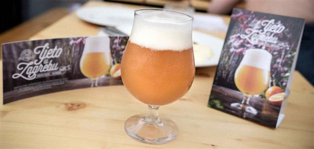 Pivnica Medvedgrad-Wit pivo Ljeto u Zagrebu