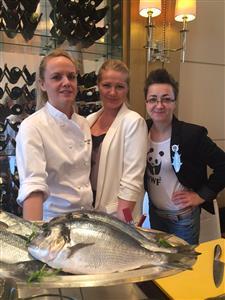 Ana Grgić, Barbara Kolar i Marina Orsag -WWF ribarstvo