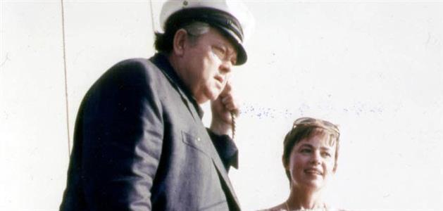 Orson Welles i Jeanne Moreau na Hvaru
