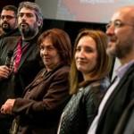 Protagonisti i redatelji filma Kandidat Tomislava Pulića i Roberta Tomića Zubera